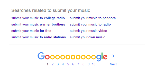 submit your music suggestions